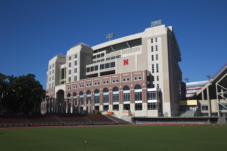 Stadium exterior