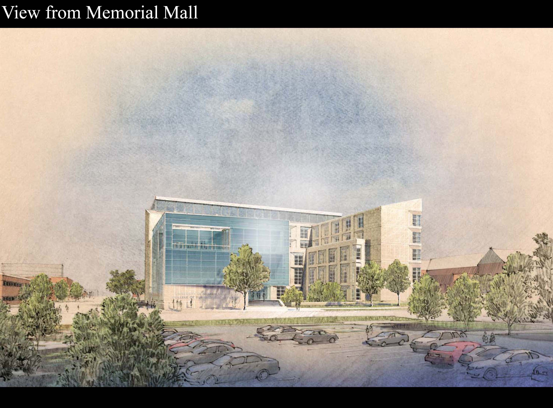 CBA architectural illustration exterior