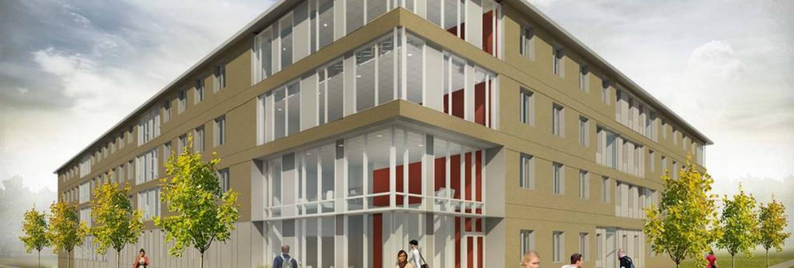 East Campus Residence Hall Architectural Drawing